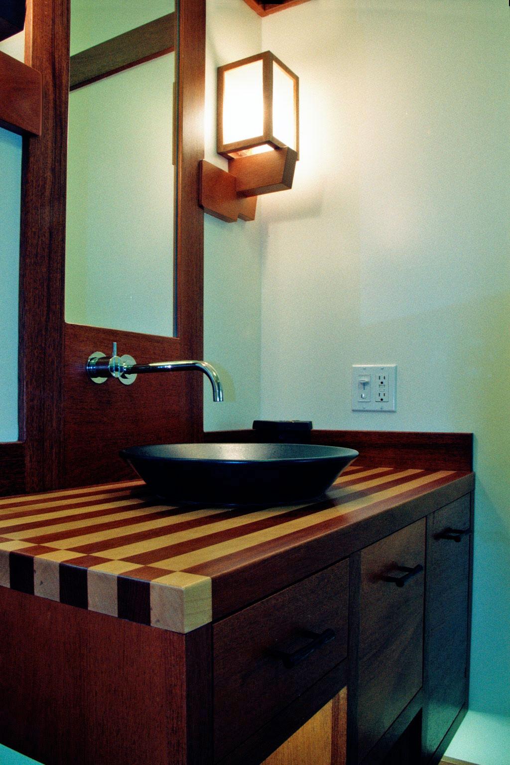 Japan Inspired Powder Room